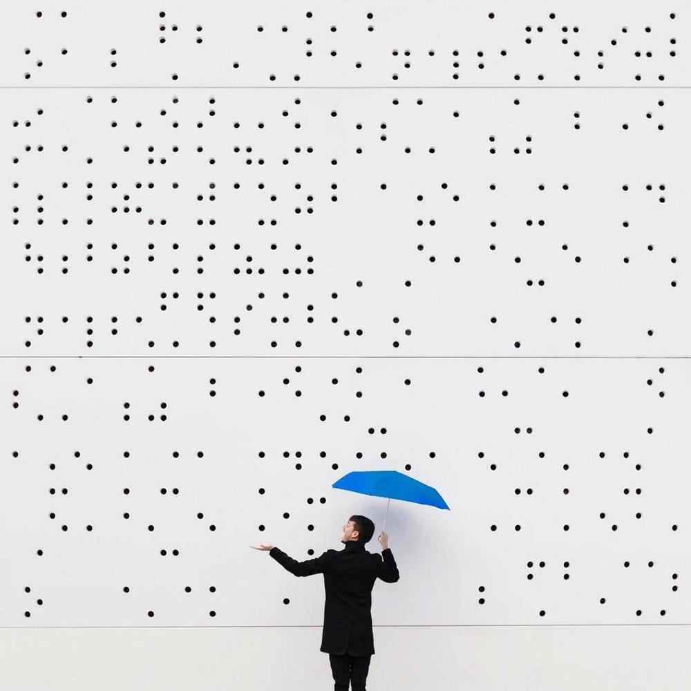 Дуэт фотографов путешествует по миру и снимает креативные архитектурные портреты  26