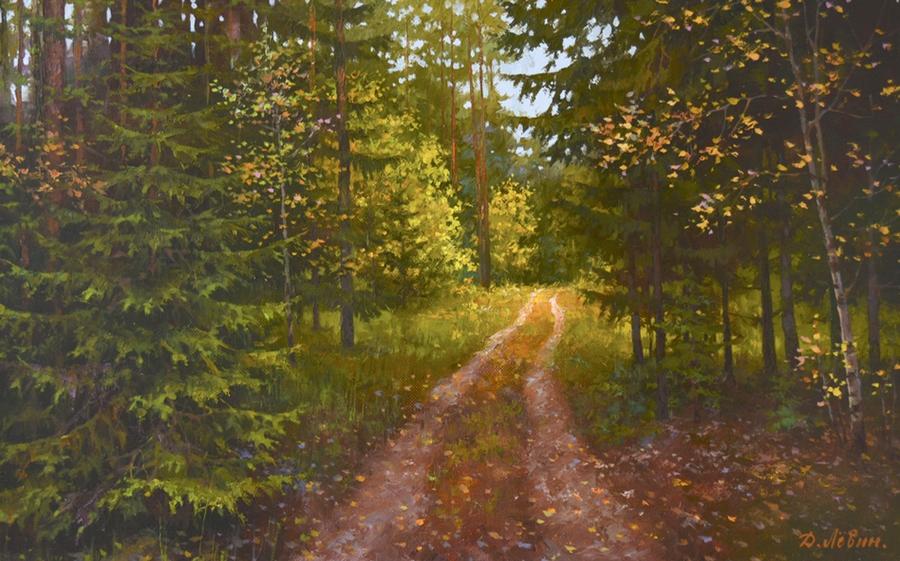 Вдали от суеты: деревенская живопись Дмитрия Лёвина 2