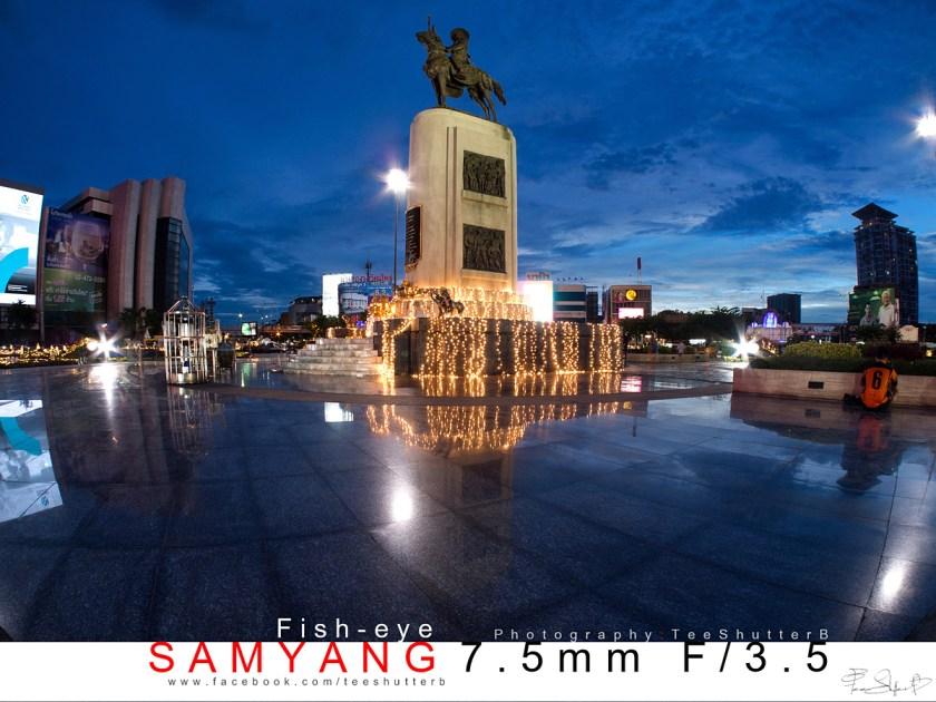 รีวิวเลนส์ Samyang 7.5mm f3.5 Fisy-eye
