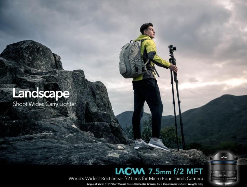 เลนส์ Laowa 7.5mm สำหรับกล้อง MFT (1)
