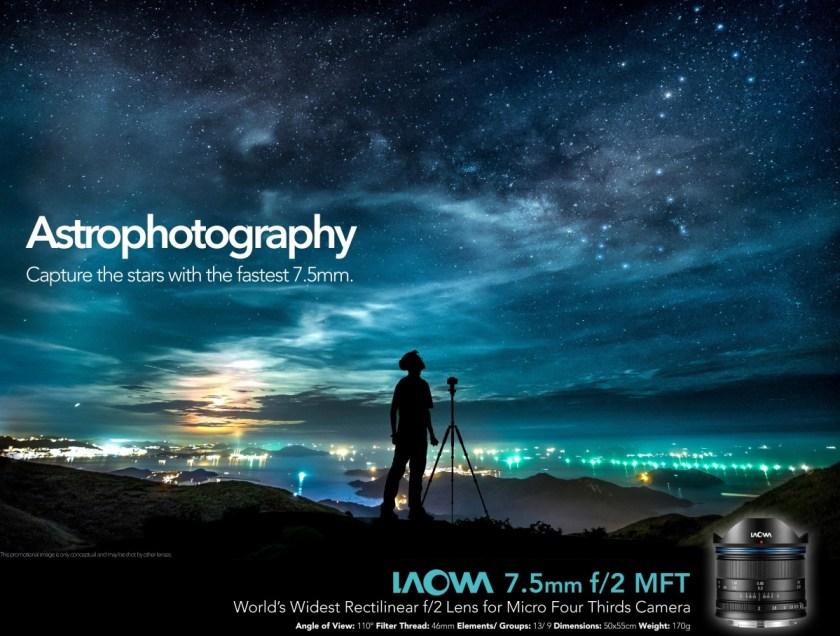 เลนส์ Laowa 7.5mm สำหรับกล้อง MFT (4)