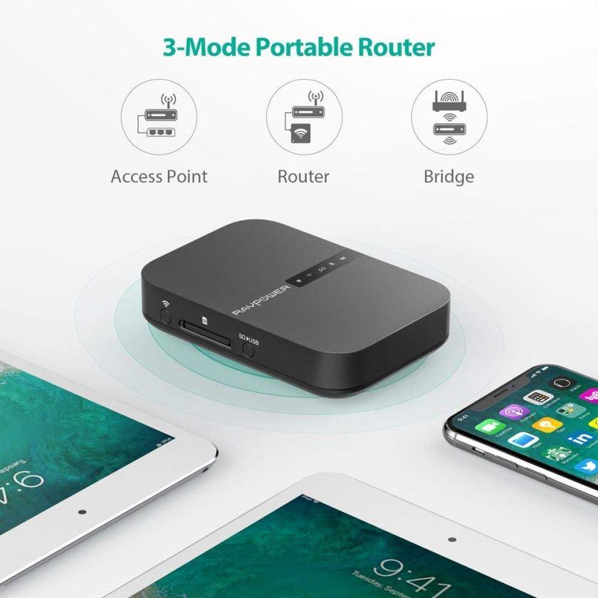 RAVPOWER FileHub RP-WD009 พร้อม Wireless Router ในตัว (7)