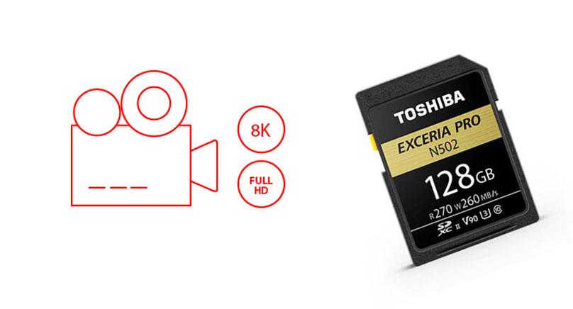 พรีวิว Toshiba Exceria Pro N502 SDXC Card เมมโมรี่การ์ดที่ตอบโจทย์งานภาพนิ่งและงานวิดีโอ