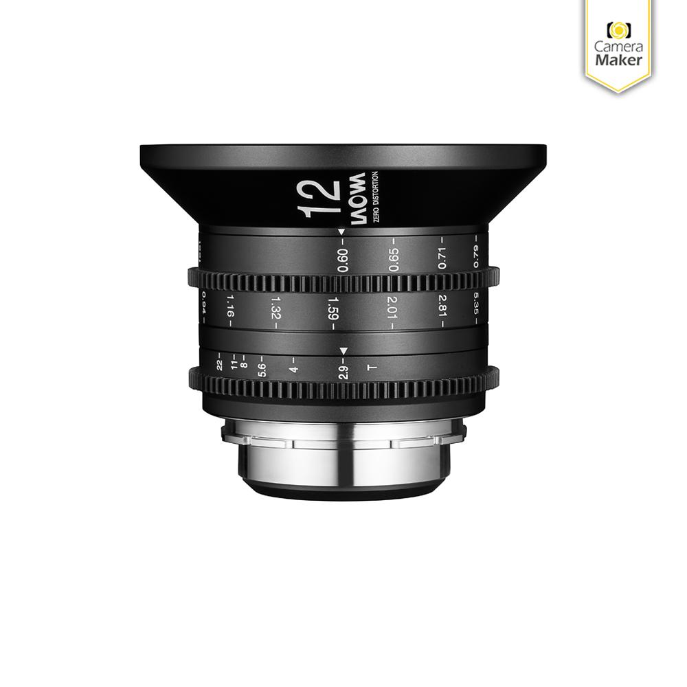 Black OCT-18 Lens to Arri PL Camera Mount Adapter for Zoom Lenses