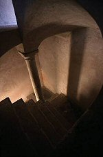 Wall and stairs, Dubrovnik, Croatia, Photograph by Brent VanFossen