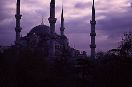 Famous Blue Mosque of Istanbul, photograph by Brent VanFossen