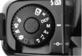 Program dial of the Canon EOS A2