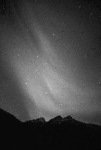 Photograph of aurora borealis