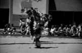 Photograph of Southwestern Indians dancing an exhibition