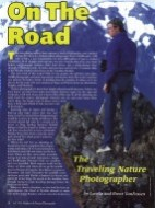Outdoor and Nature Photography Magazine, Fall 1996, article about advice for the traveling photographer by Lorelle and Brent VanFossen