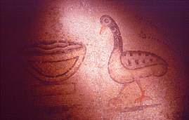 Mosaic from Roman Times, Etrez Museum, photo by Brent VanFossen
