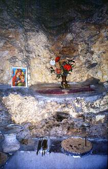 The birthplace of Mary, Jesus's mother, photo by Lorelle VanFossen