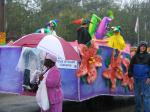 Mardi Gras 2006, Mobile, Alabama, Floral Parade for children, photographs copyright Lorelle VanFossen