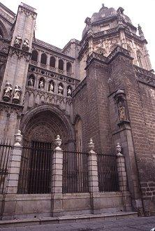 Entry area of the main cathedral, Toledo, Spain, photograph by Brent VanFossen