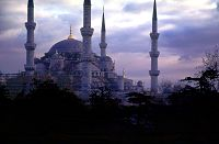 Blue Mosque in Istanbul, photo by Brent VanFossen