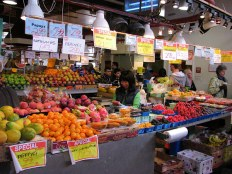 granville island vegetable stands by lorelle vanfossen