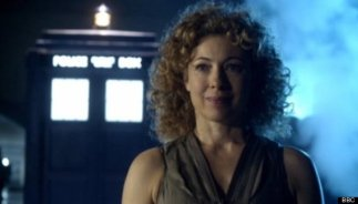 doctor who - river song and tardis