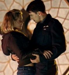 doctor who - rose dances with captain jack harness