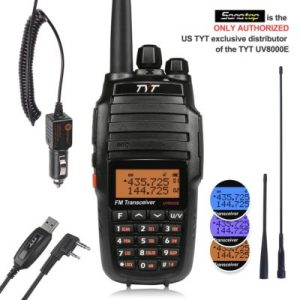 UV8000E 10W High Power Dual Band Two-Way Radio