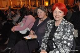 Med publiko tudi predsednica združenja Europa donna, prim. Mojca Senčar, dr.med..
