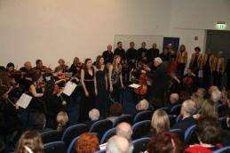 Poleg Sanje Zupanič sta z nami nastopili še Ana Berus in Nadia Ternifi.