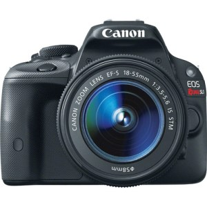 Canon EOS Rebel SL1/EOS 100D DSLR Camera with 18-55mm Lens