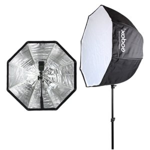 "Godox 32""/ 80cm Umbrella Octagon Softbox for Studio Photo Flash Speedlight"