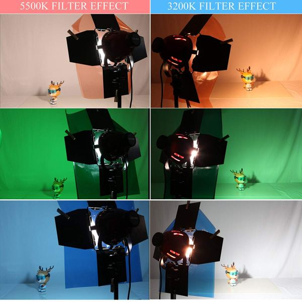 Gels Color Filter Correction Gel Lighting Filter for Photo Studio Light Red Head Light Strobe