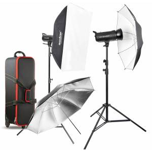Godox Gemini GS300II 300Ws Monolight 2 HeadLights