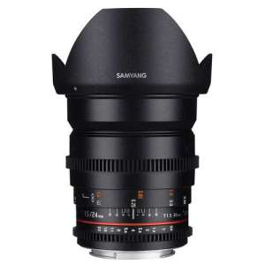 Samyang 24mm T1.5 VDSLRII Cine Lens for EF Mount