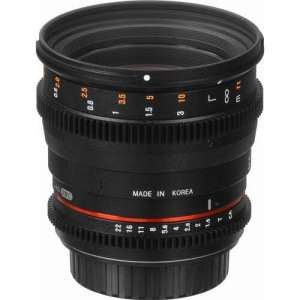 Rokinon 50mm T1.5 AS UMC Cine DS Lens