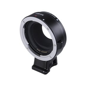 Kooka kk-em01 Lens Adapter for Canon EF / EF-S Lenses Black