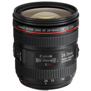 Canon EF 24-70mm f/2.8L IS USM Lens