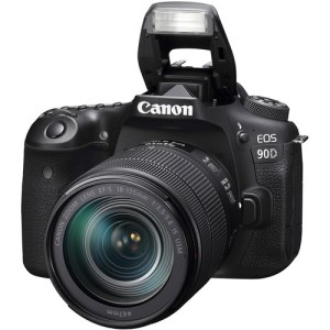 Canon EOS 90D DSLR Camera with 18-135mm Lens Uk Used