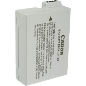 Canon LP-E8 Rechargeable Battery For Rebel T2i/T3i/T4i/T5i