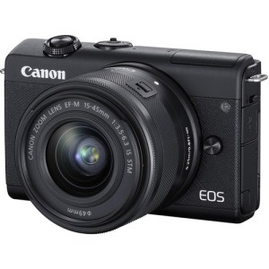 Canon EOS M200 Mirrorless Camera with 15-45mm Lens