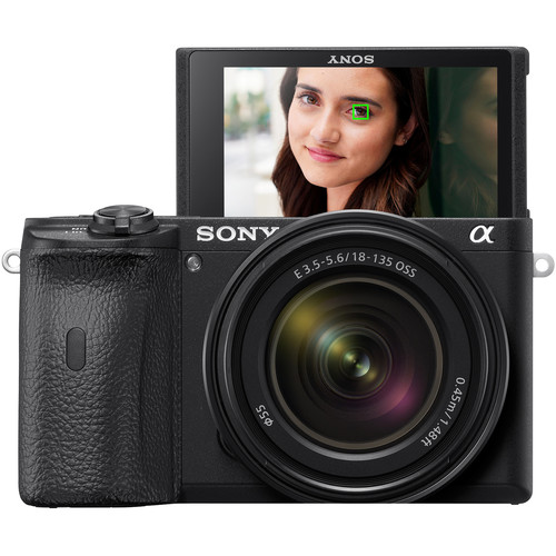 Sony a6600 Mirrorless Camera with 18-135mm Lens