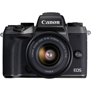 Canon EOS M5 Mirrorless Digital Camera with 15-45mm Lens Uk Used