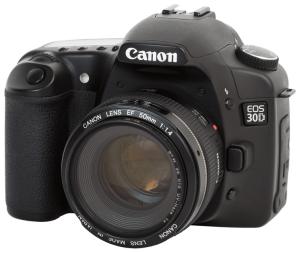 Canon EOS-30D Manual User Guide.