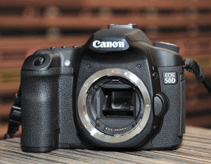 Canon EOS-50D Manual.