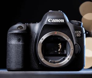 Canon EOS-6D Manual..