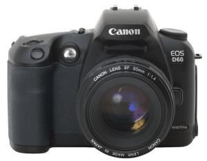 Canon EOS-D60 Manual User Guide,
