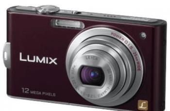 Panasonic Lumix DMC-FX60 Manual For Panasonic Camera Stylish Users 2