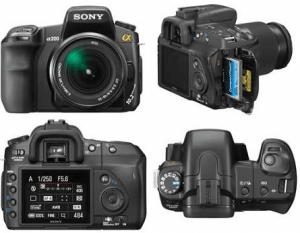 Sony DSLR-A200 Manual User Guide PDF