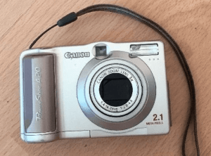 Canon PowerShot A20 Manual Detail and Specification