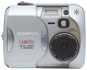 Olympus C-40 Manual for Olympus Superb Camera with 4 MP Resolution