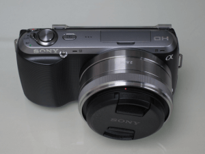 Sony NEX-C3A Manual for Sony's 16mm Pancake Lens Camera