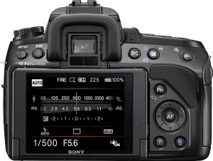 Sony Alpha A850 Manual, Manual of Sony Full Frame SLR with Affordable Price