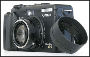 Canon PowerShot G5 Manual User Guide and Detail Specification