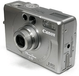 Canon PowerShot S10 Manual, a Manual of Canon Classic PowerShot Camera